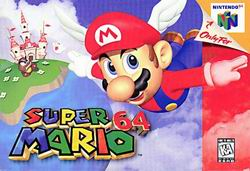 Super Mario 64 (USA) Box Scan